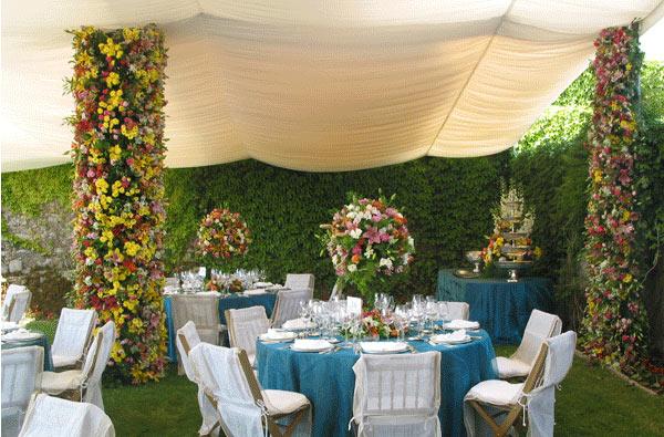 Decoração de casamento jardim
