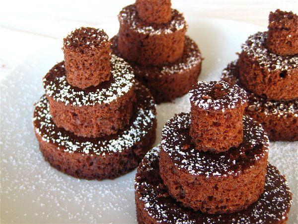 Bolos de chocolate para festa de casamento