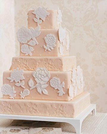 bolo de casamento rosa bebê