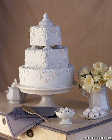 bolo decorado de casamento de 3 andares