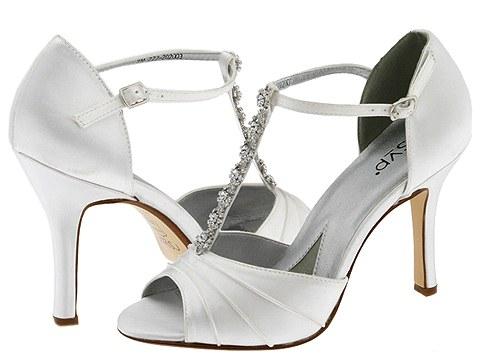 Sapatos de noiva elegantes