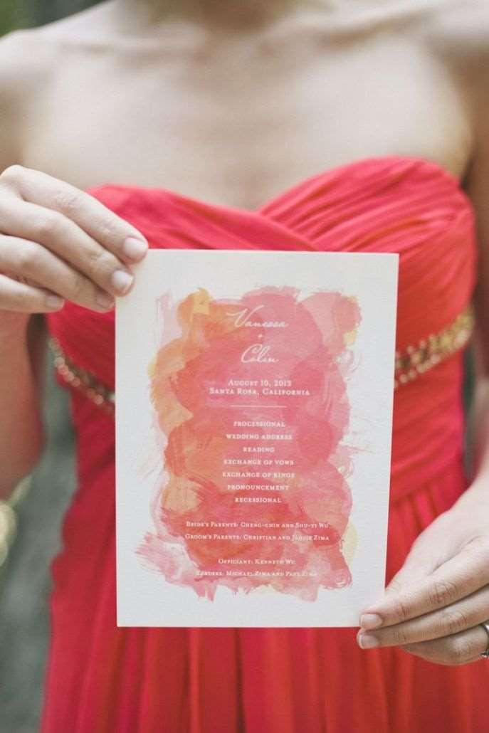 convite casamento aquarelado