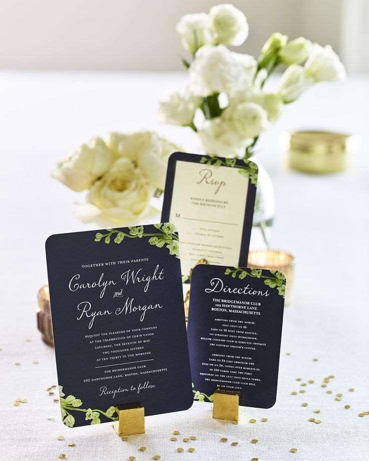 convite casamento simples
